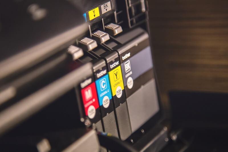fotografia cartuchos impresora